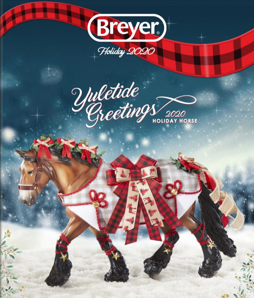 2020 Christmas Breyer Yuletide Greetings – 2020 Holiday Horse – Desktop Stables