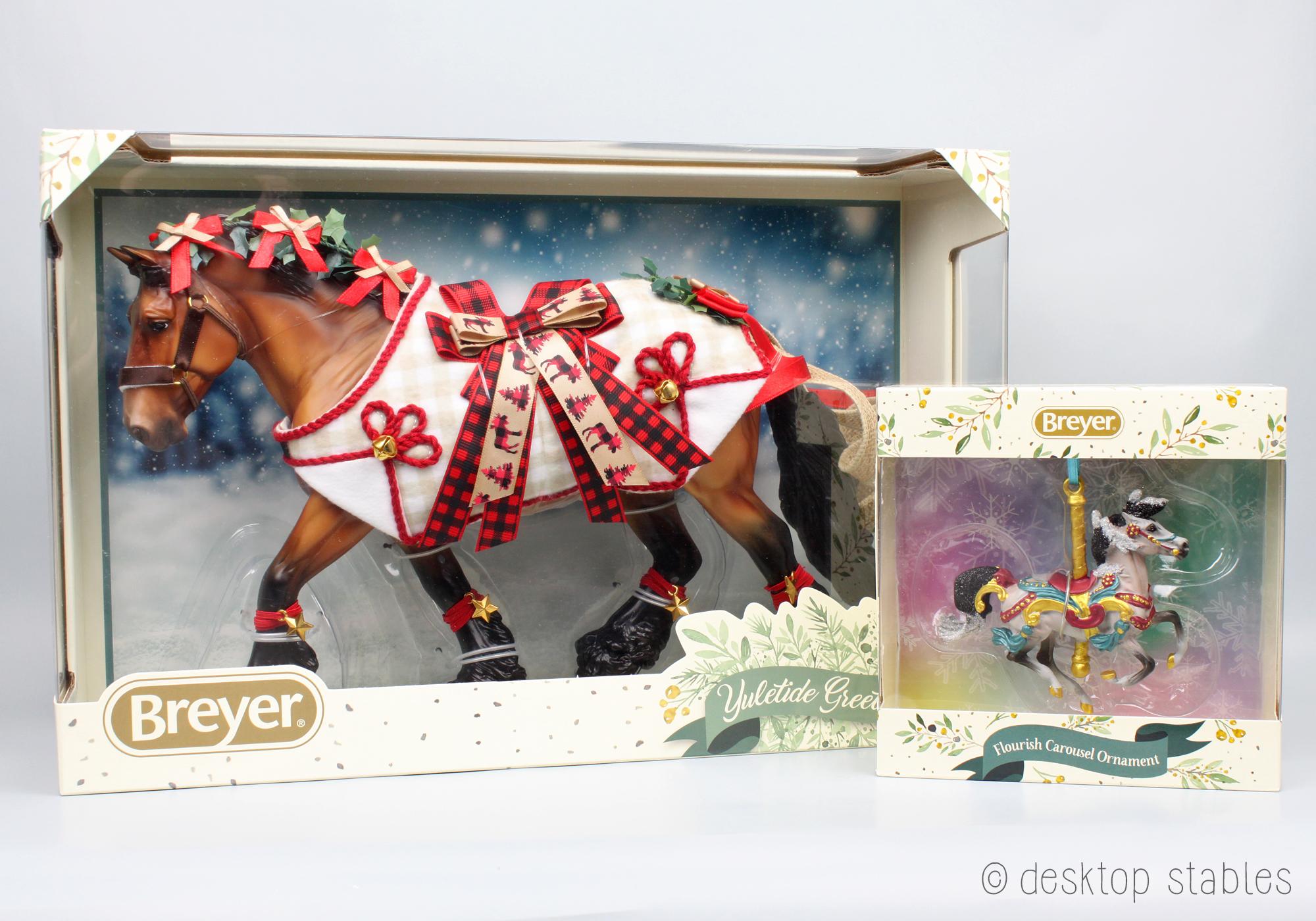 2020 Holiday Horse Desktop Stables